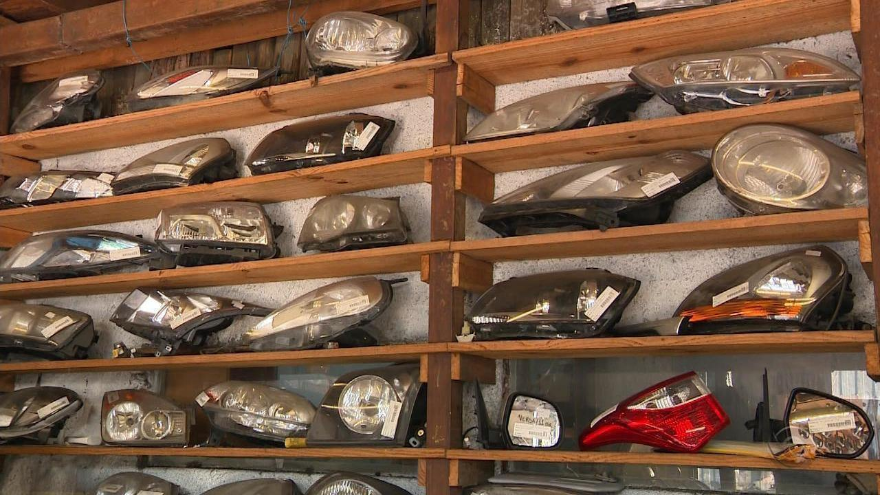 Quadrilha desarticulada em Porto Alegre vendia peças de automóveis sem certificados