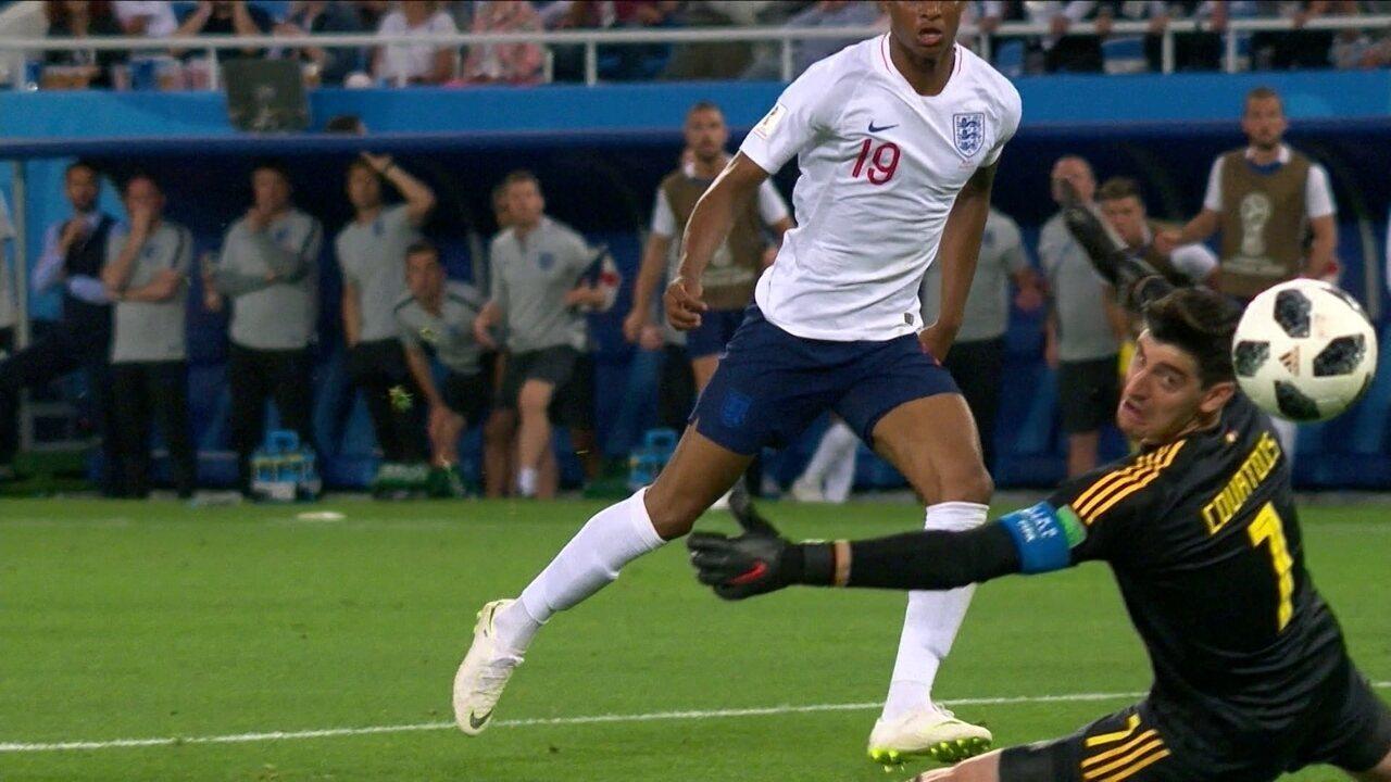 Melhores momentos: Inglaterra 0 x 1 Bélgica pela Copa do Mundo 2018