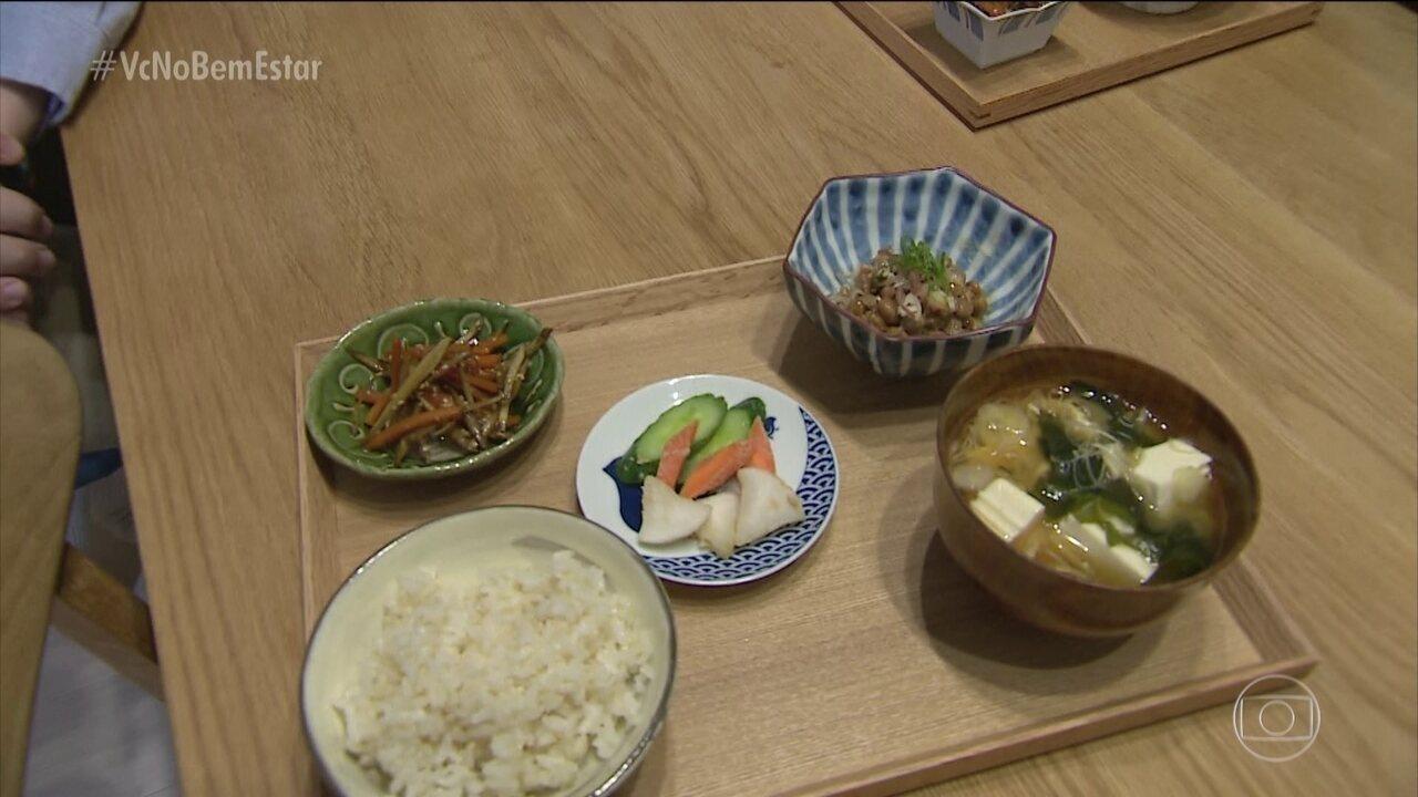 Alimentação é um dos segredos dos japoneses