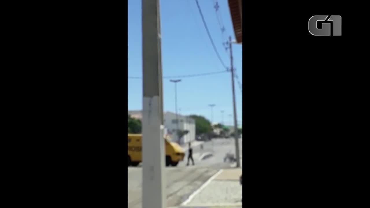 Carros fortes chegam a Ipueira após tentativa de assalto no RN