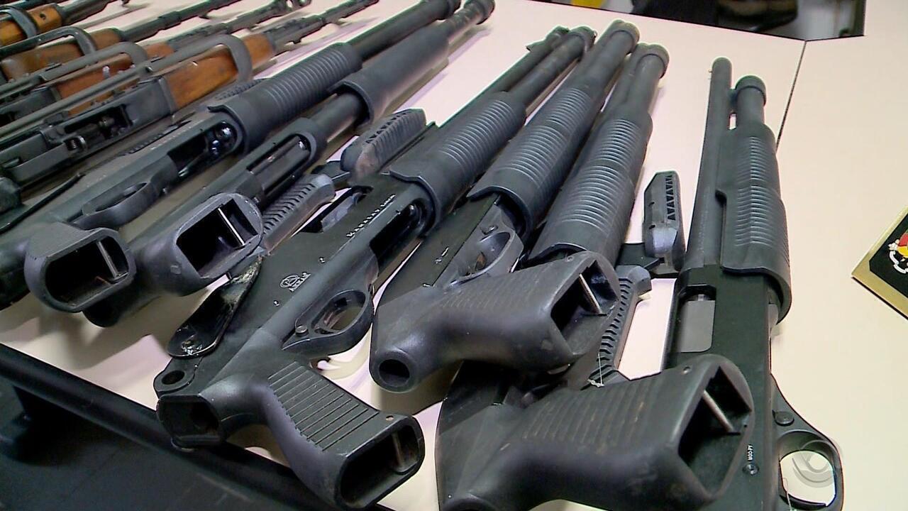 Armas apreendidas em Estrela podem ser utilizadas pela Polícia Civil