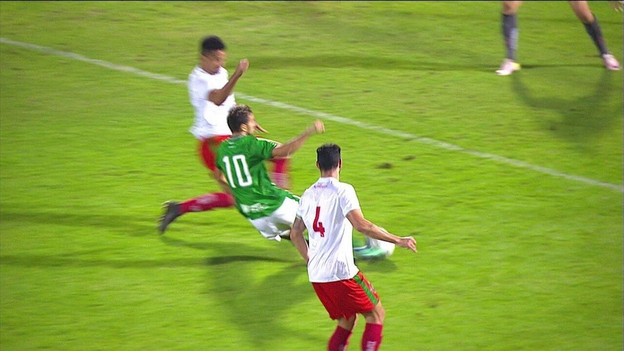 Os gols de Guarani 1 x 1 Boa Esporte pela 13ª rodada da Série B 2018