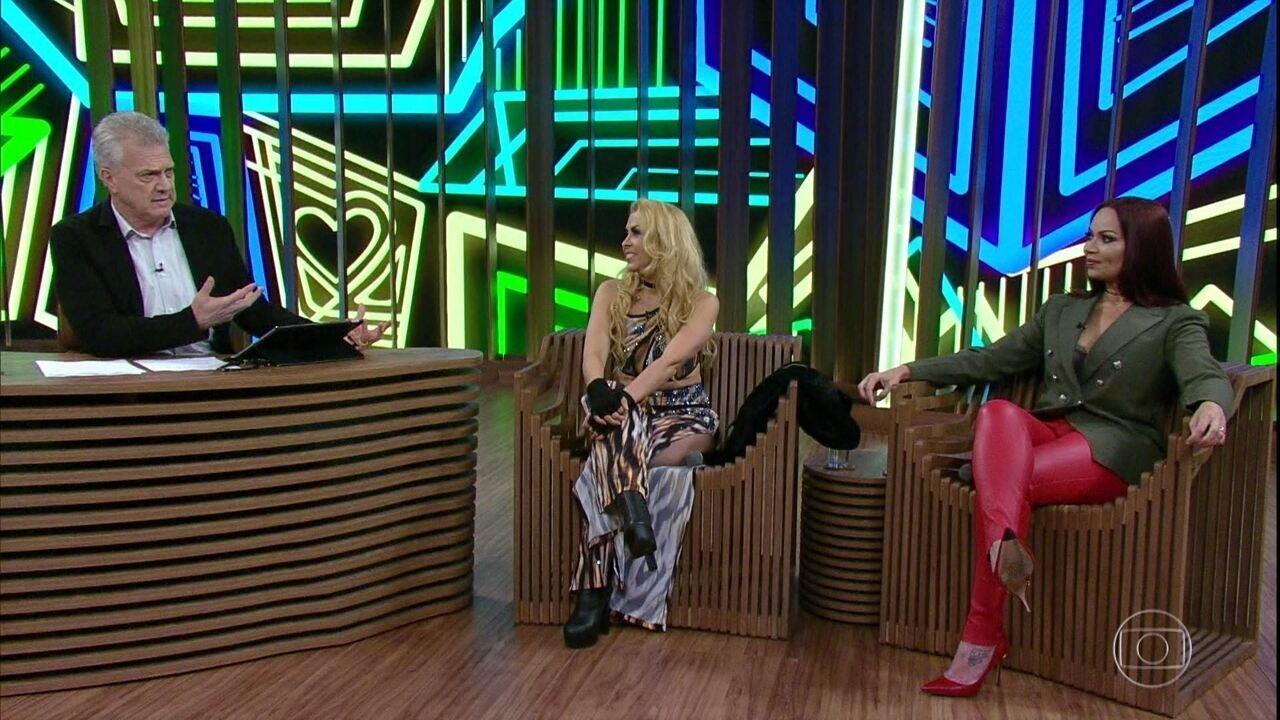 Solange Almeida e Joelma falam sobre maternidade
