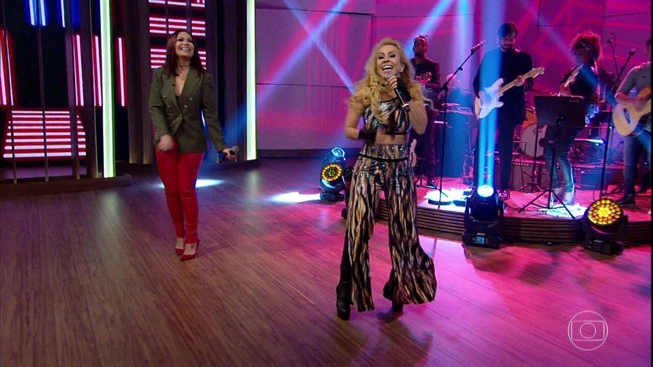 Joelma e Solange Almeida cantam 'Festa do Interior'