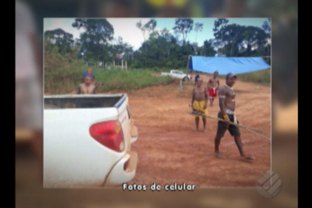 Índios interditam Transamasônica exigindo o cumprimento de condicionantes de Belo Monte