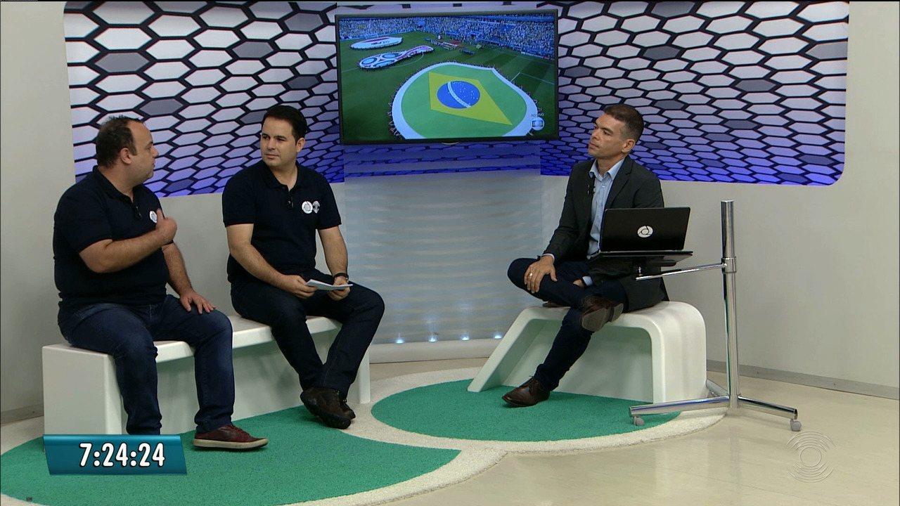 #PartiuRússia: Plínio Almeida e Expedito Madruga comentam momento do Brasil na Copa