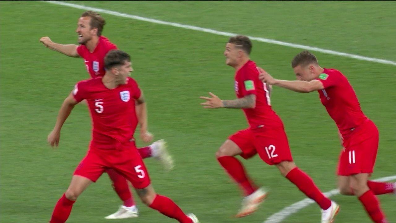 Os gols de Colômbia 1 (3) x (4) 1 Inglaterra pelas oitavas da Copa do Mundo 2018