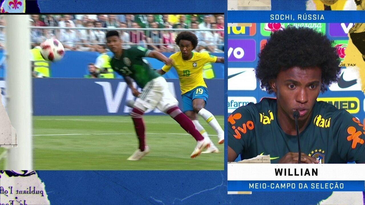 Willian elogia jogadores da Bélgica: