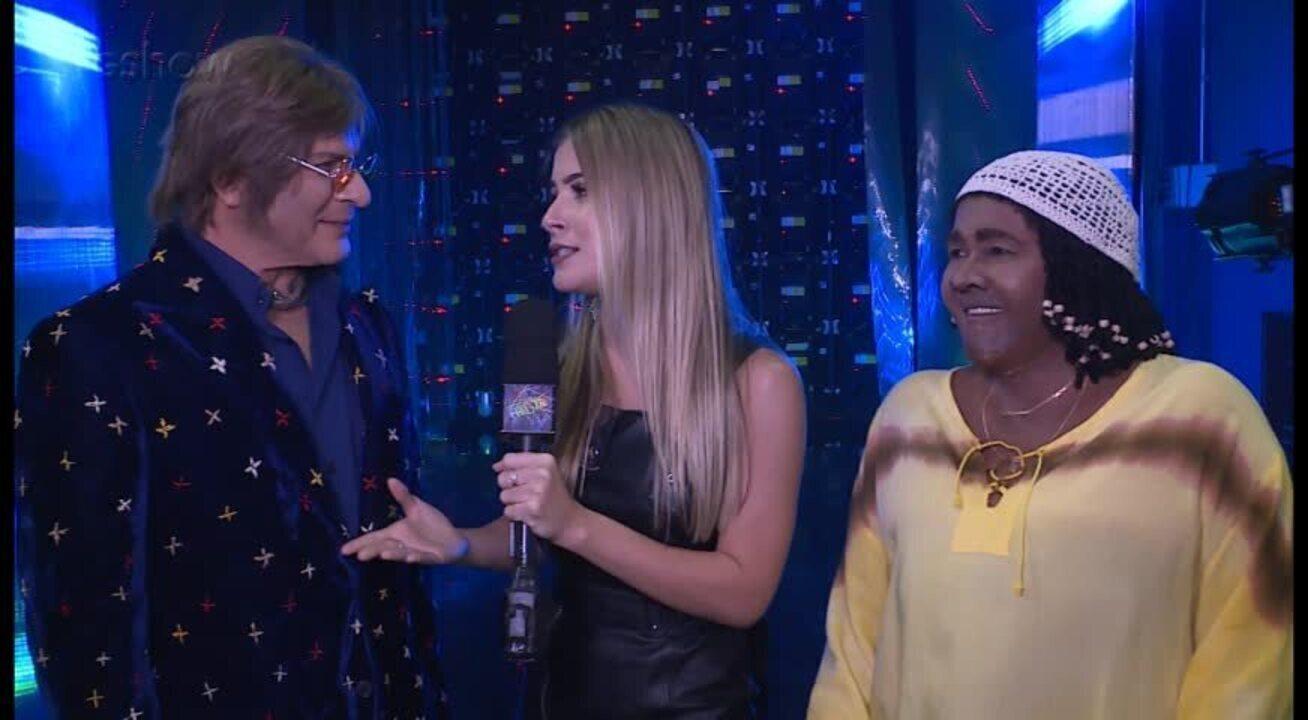 Paulo Ricardo e Sandra de Sá repercutem o 'Show dos Famosos'