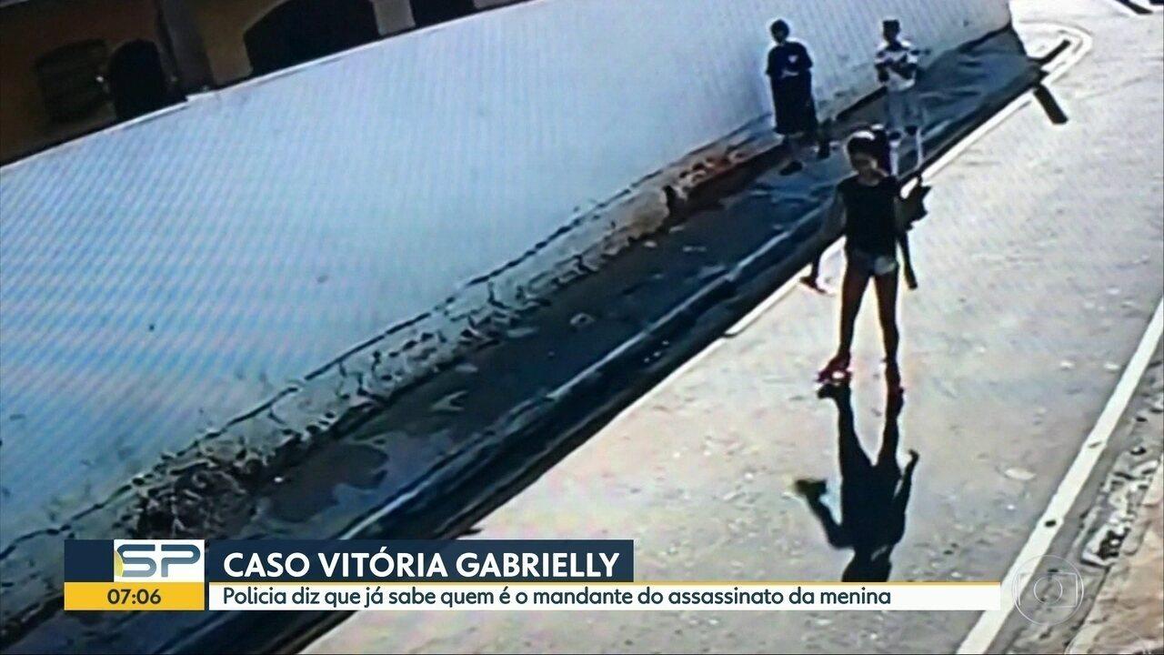 Polícia diz que já sabe quem mandou matar a menina Vitória Gabrielly, em Araçariguama (SP)