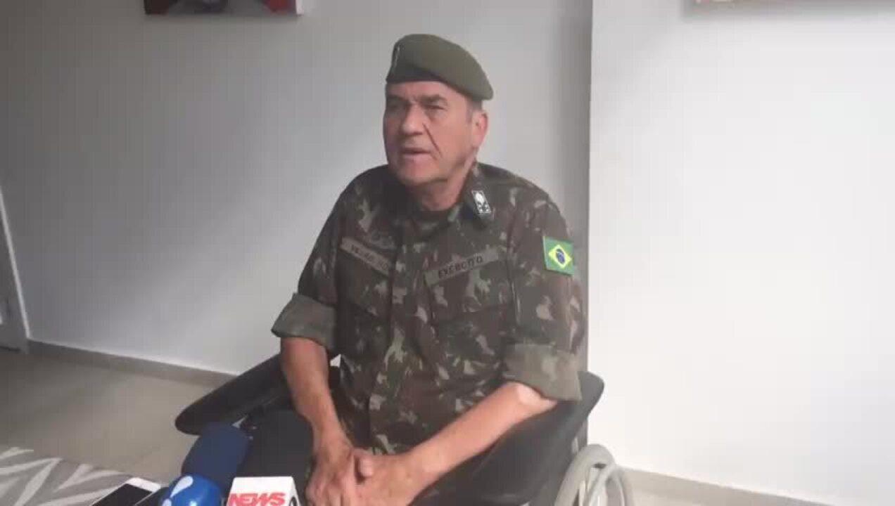 Comandante do Exército teme que Brasil vire o México em relação ao crime organizado