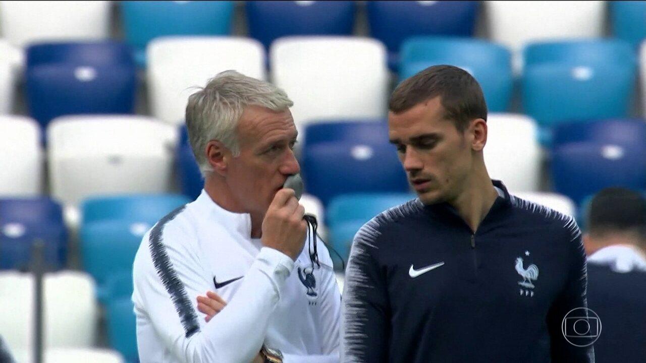 França se concentra no Uruguai, após a euforia da vitória sobre Argentina