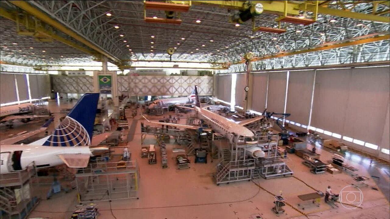 Embraer e Boeing fecham sociedade para produzir jatos comerciais