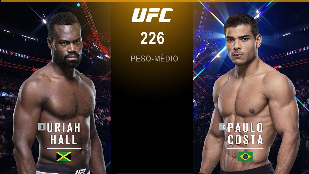 UFC 226 - Paulo Borrachinha x Uriah Hall
