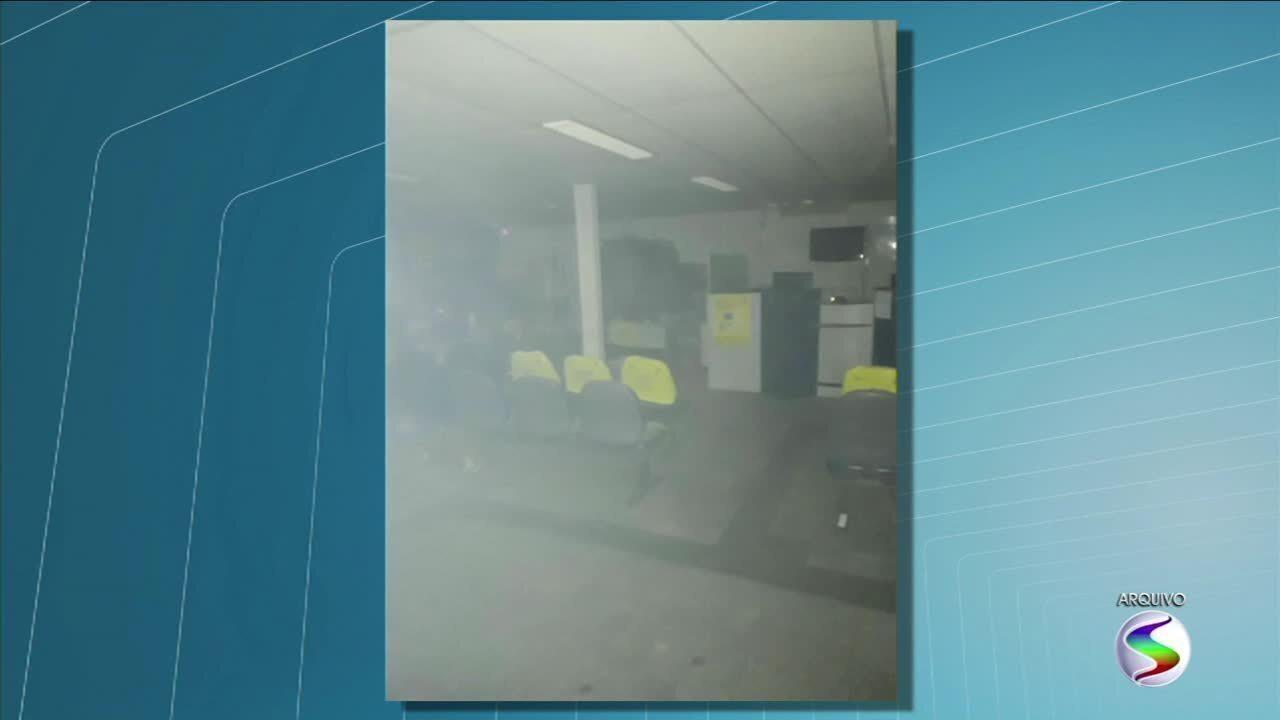 Bandidos armados explodem agências bancárias de Porto Real, no Sul do RJ