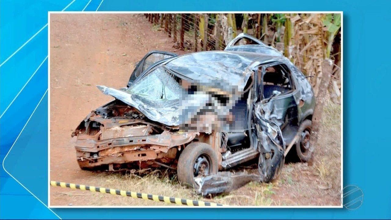 Jovem morre após acidente no Mini Anel Viário, em Fátima do Sul