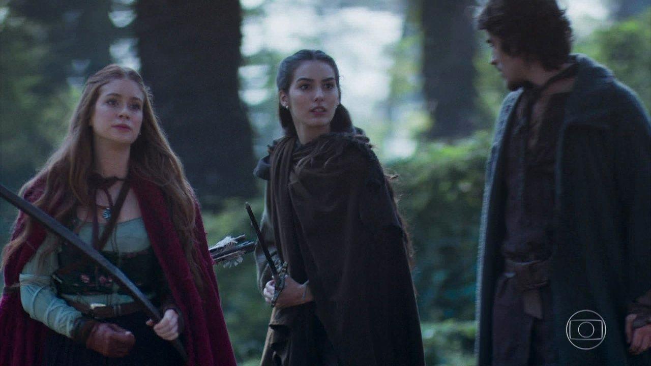 Diana e Thiago são surpreendidos por uma emboscada