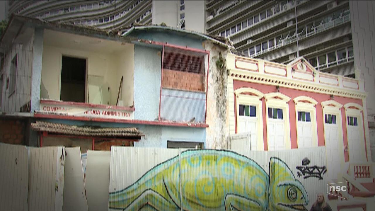 Levantamento dos Bombeiros alerta para riscos de construções abandonadas em SC