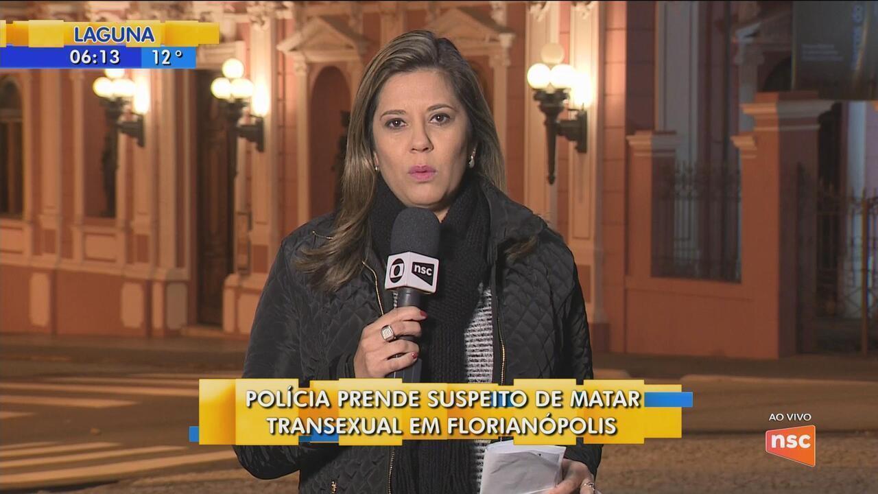 Polícia prende suspeito de matar transexual em Florianópolis