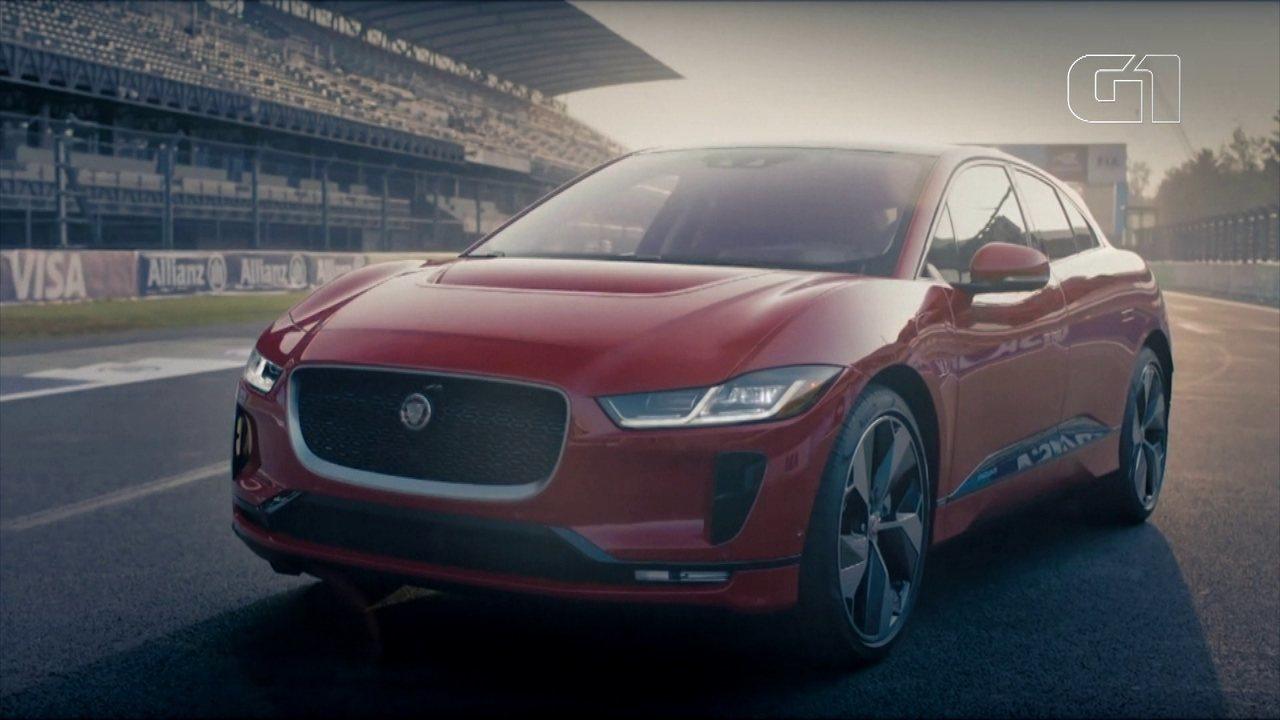G1 testou o Jaguar I-Pace, o primeiro grande rival elétrico da Tesla