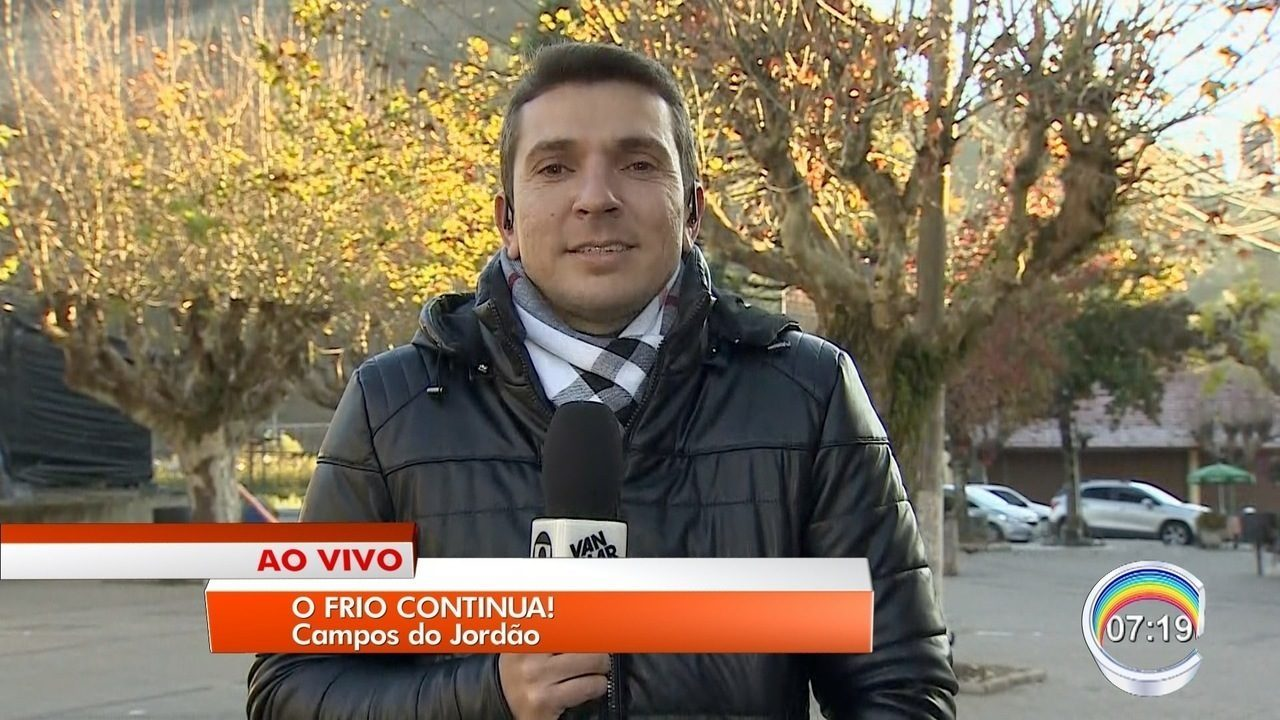 Campos do Jordão registra menor temperatura do ano