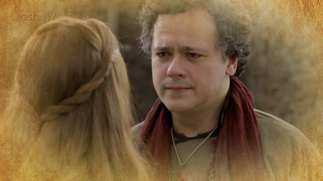 Resumo de 14/07: Gregório se declara para Amália