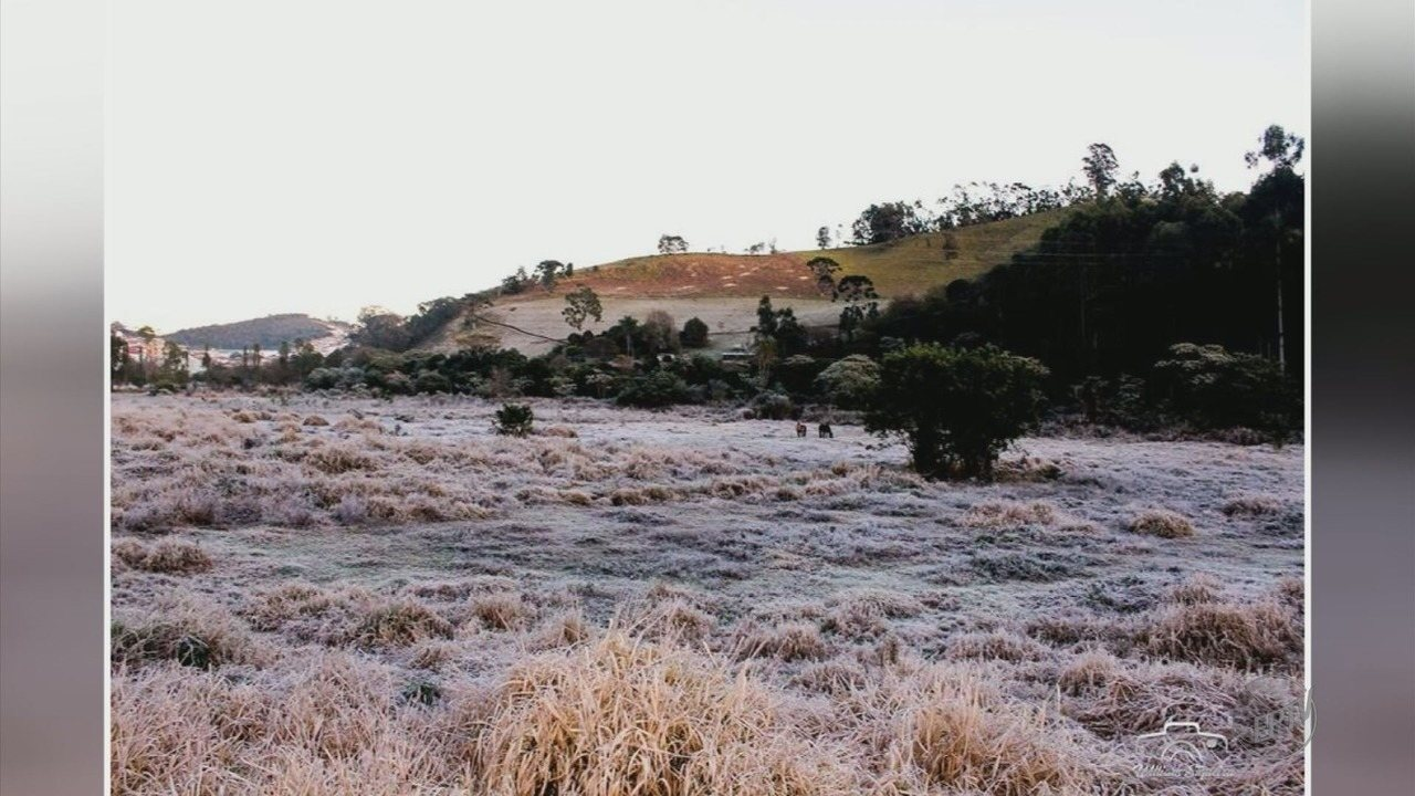 Sul de Minas tem temperatura mais fria do ano até agora