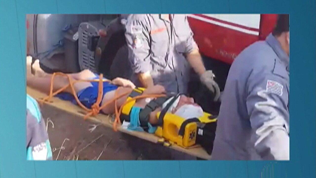 Adolescente de 15 anos cai em poço de 15 metros em Mogi das Cruzes