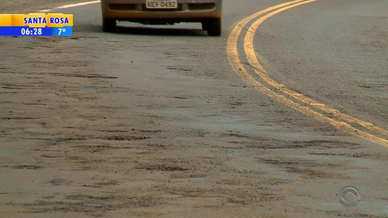 Motoristas reclamam das más condições da ERS-307, no Noroeste do RS