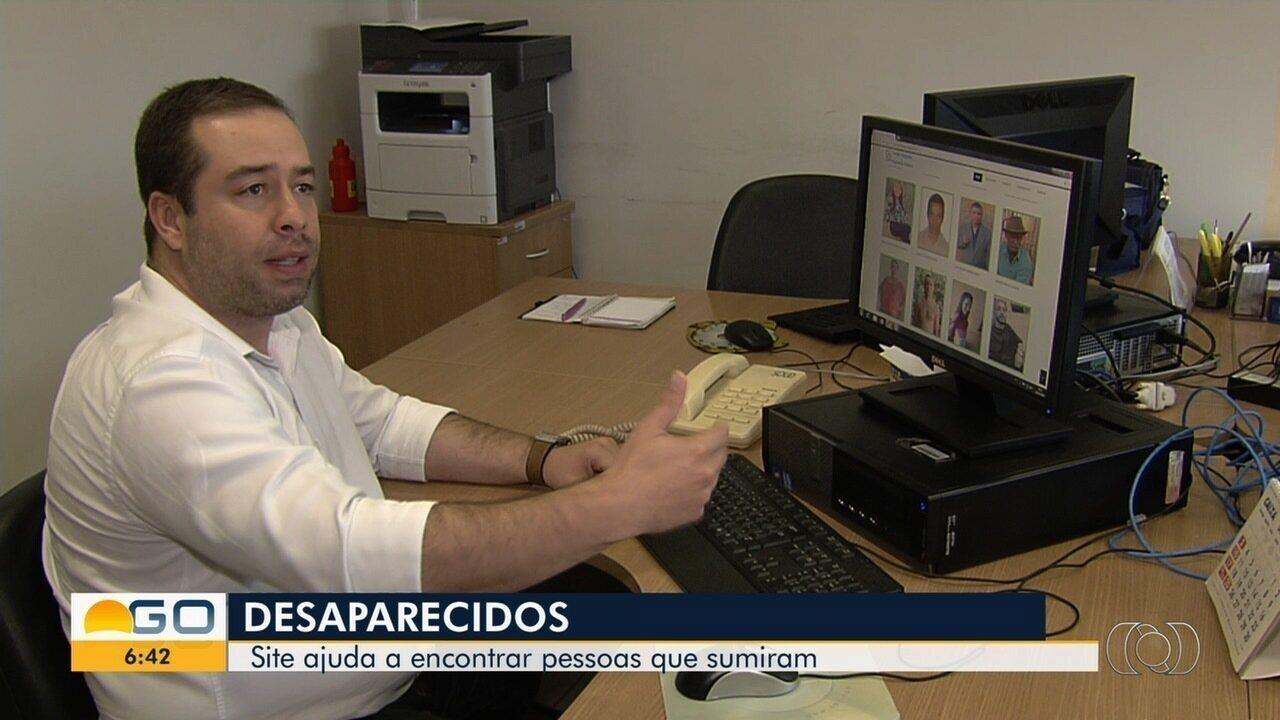Site pode ajudar famílias de Goiás a procurarem parentes desaparecidos