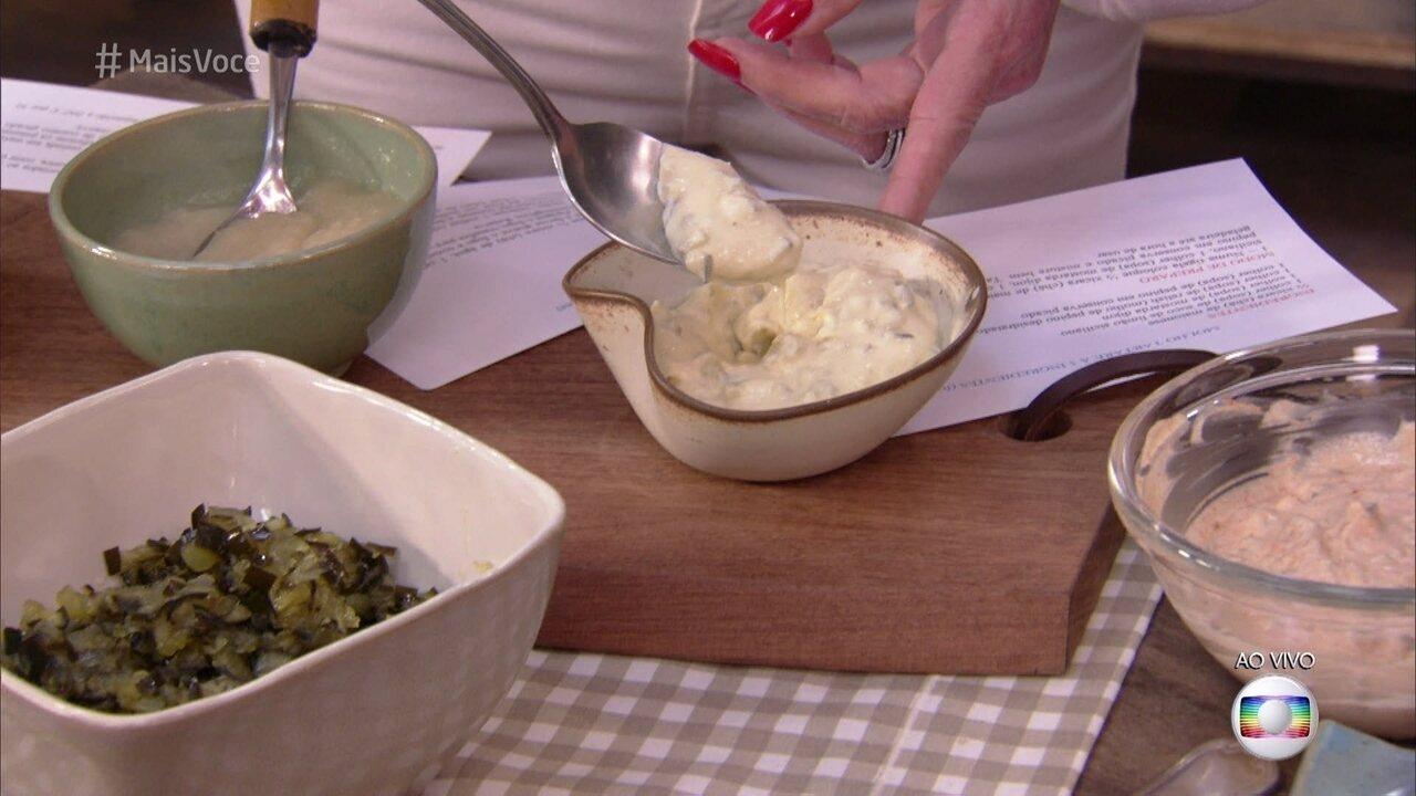 Molho Francês leva cinco  ingredientes