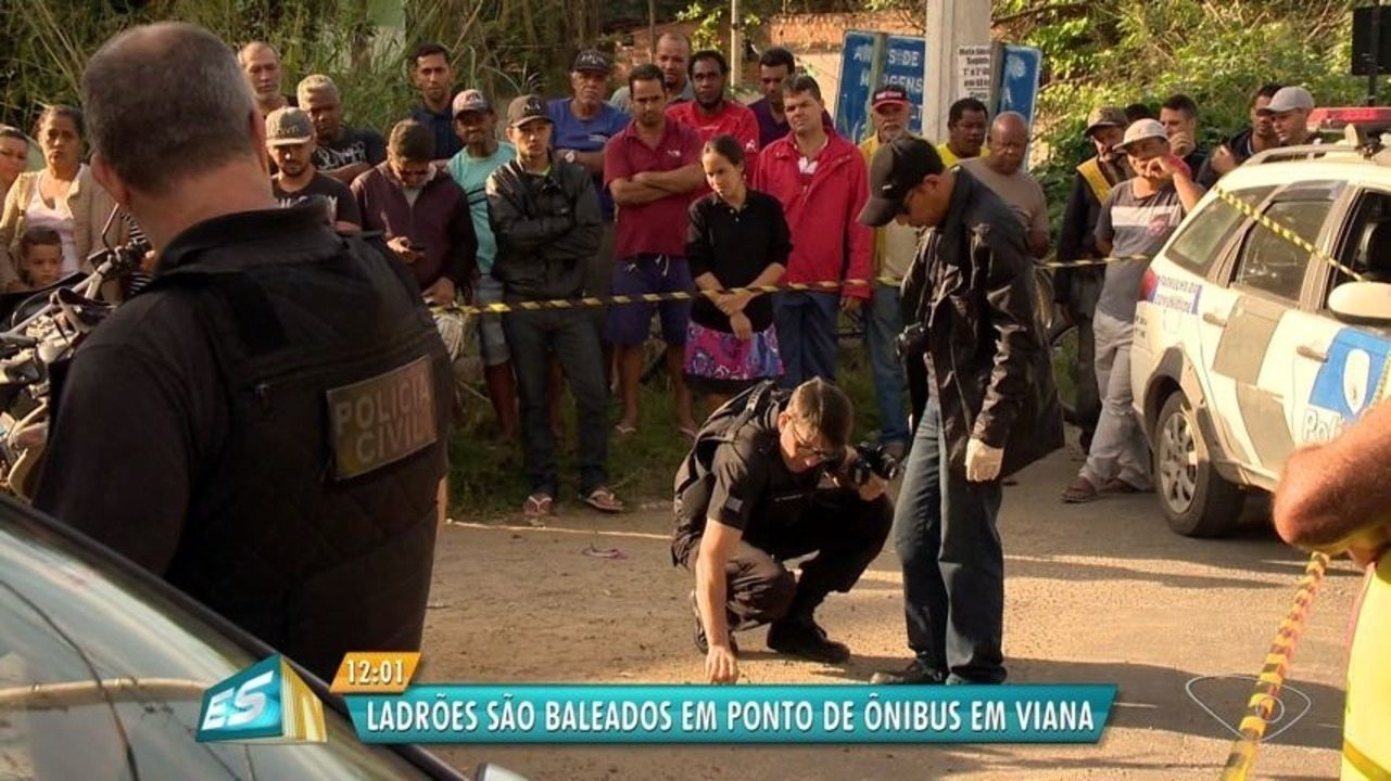 Homem mata assaltante e fere outro após arrastão em ponto de ônibus no ES