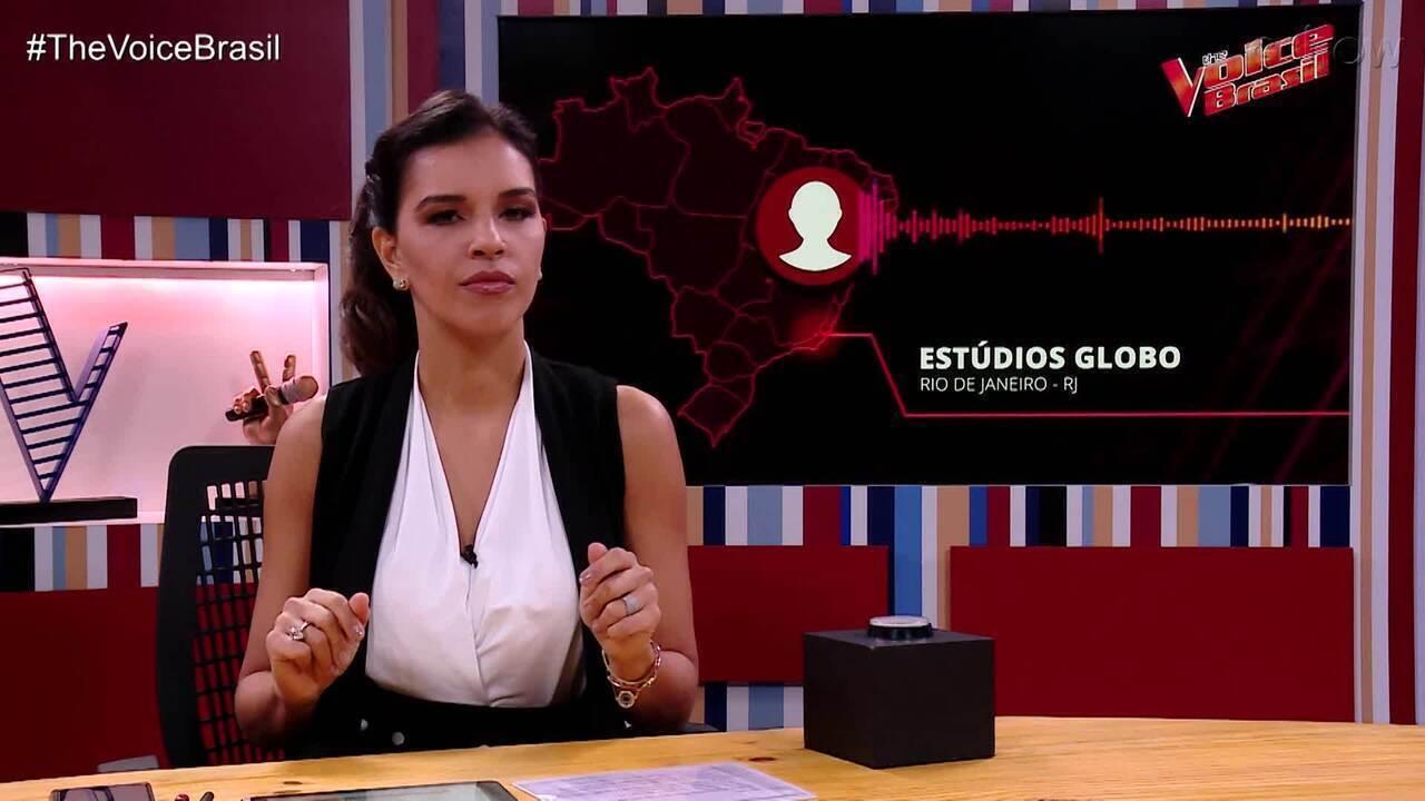 Mariana Rios dá spoiler das Audições às Cegas no 'The Voice Brasil Live'