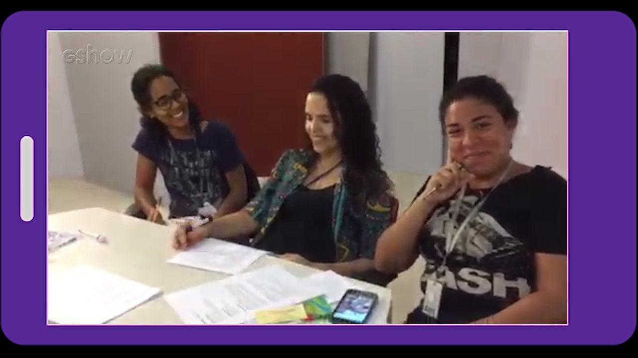 Daily vlog: acompanhe os bastidores da produção do 'Conexão'