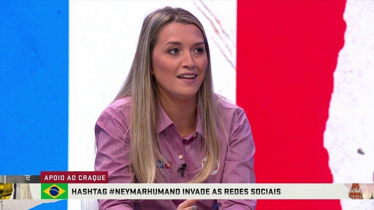 #Neymarhumano: Comentaristas analisam campanha de apoio ao atacante brasileiro