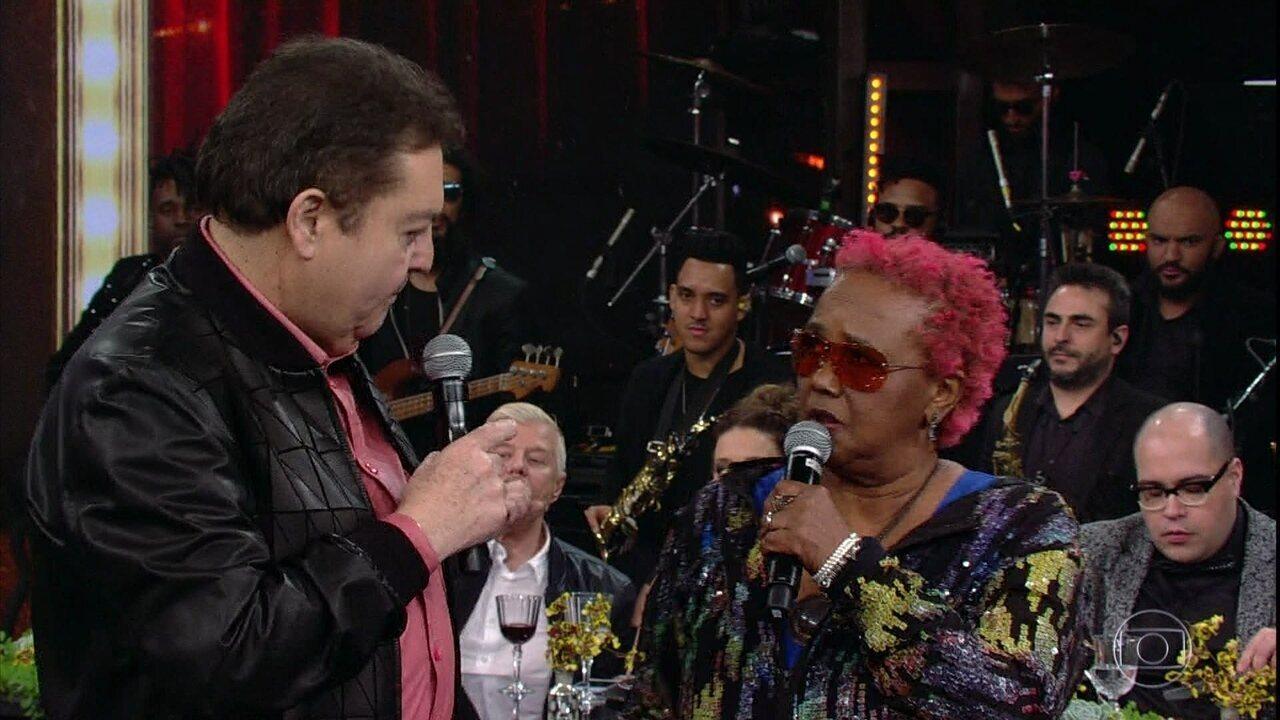Sandra de Sá comenta sua participação no 'Show dos Famosos 2018'