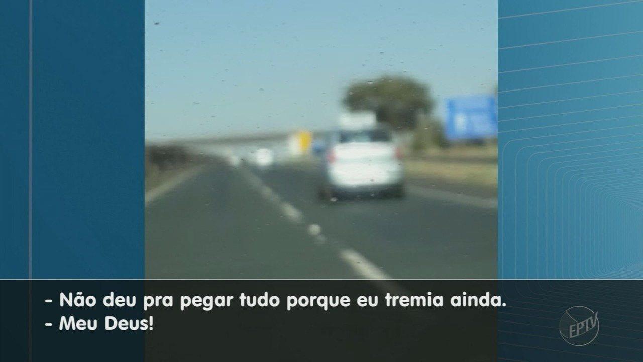 Novas imagens mostram motoristas suspeitos de racha na Rodovia Anhanguera