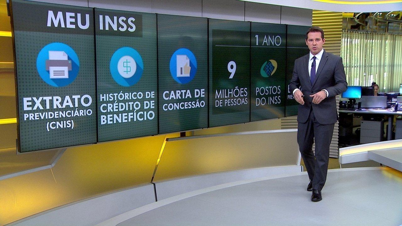 INSS libera vários serviços pela internet