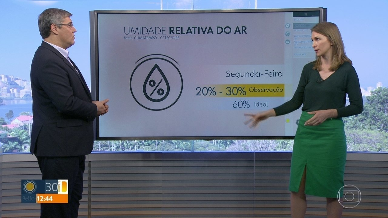 Semana será de madrugadas frescas mas dias bem quentes, no Rio.