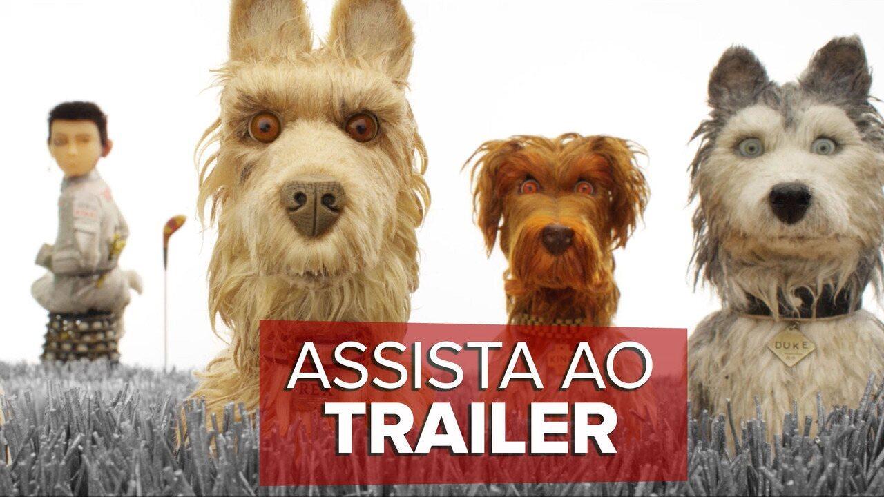 Assista ao trailer de 'Ilha dos Cachorros'