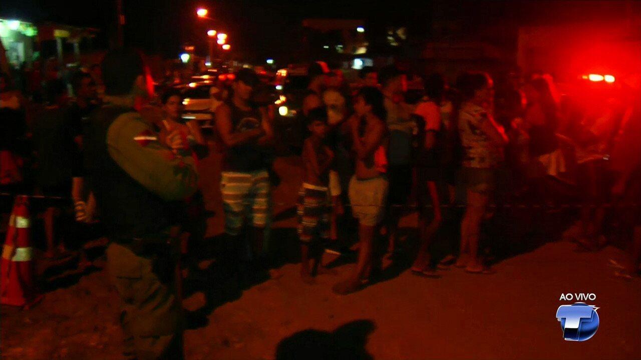 Mulher morre atropelada por trator durante obra em rua de Santarém, no Pará