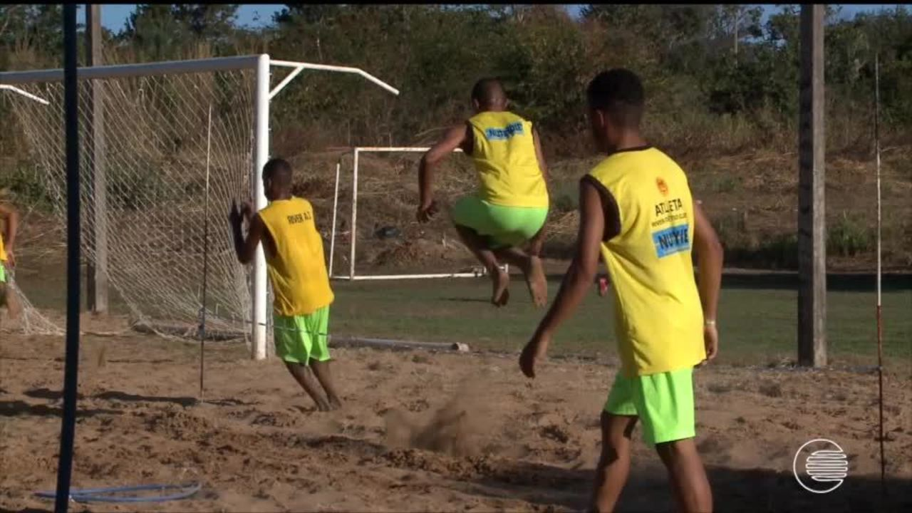 River-PI treina pesado para surpreender novamente na Copa do Nordeste Sub 20