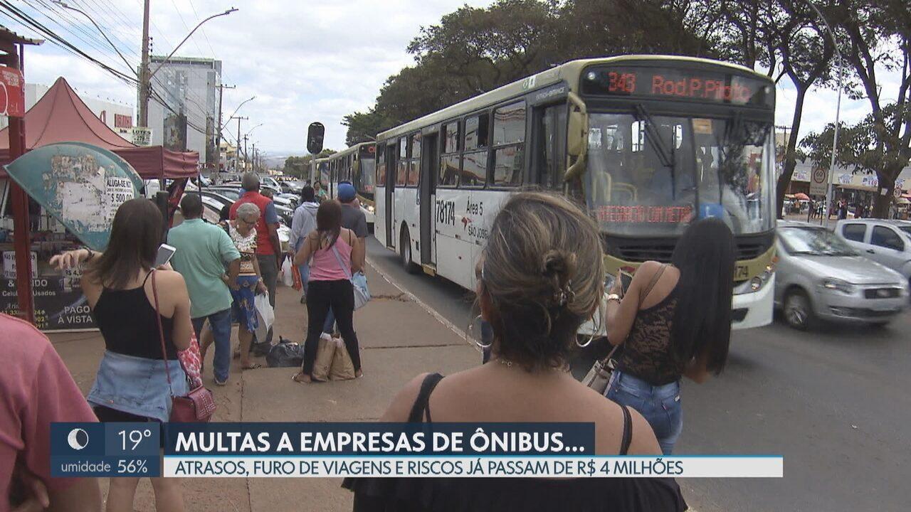 Empresas de ônibus foram multadas em R$ 4 milhões pela Secretaria de Mobilidade