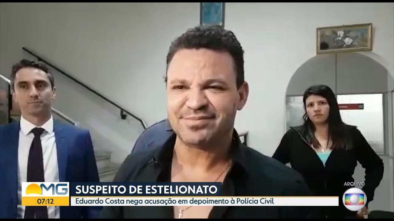 Suspeito de estelionato, cantor Eduardo Costa nega acusação em depoimento à Polícia Civil
