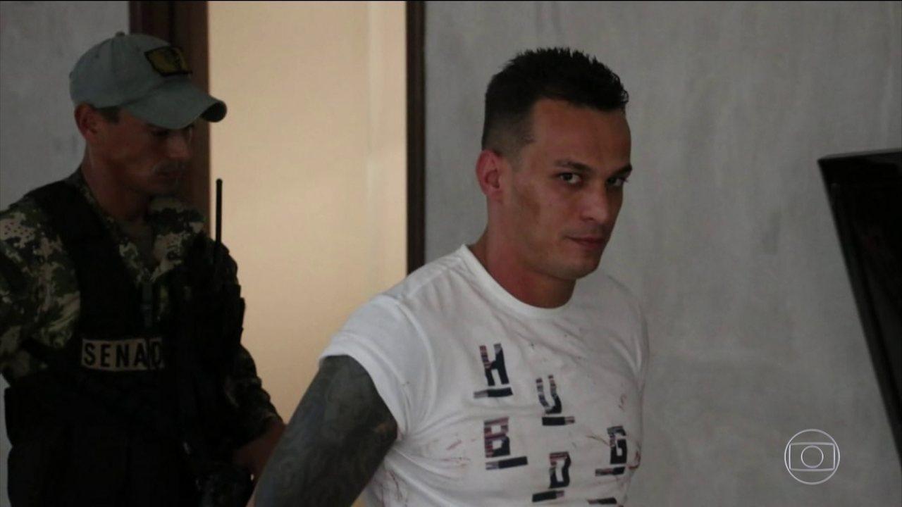 Traficante Pisca deve ser transferido para presídio federal após ser preso no Paraguai