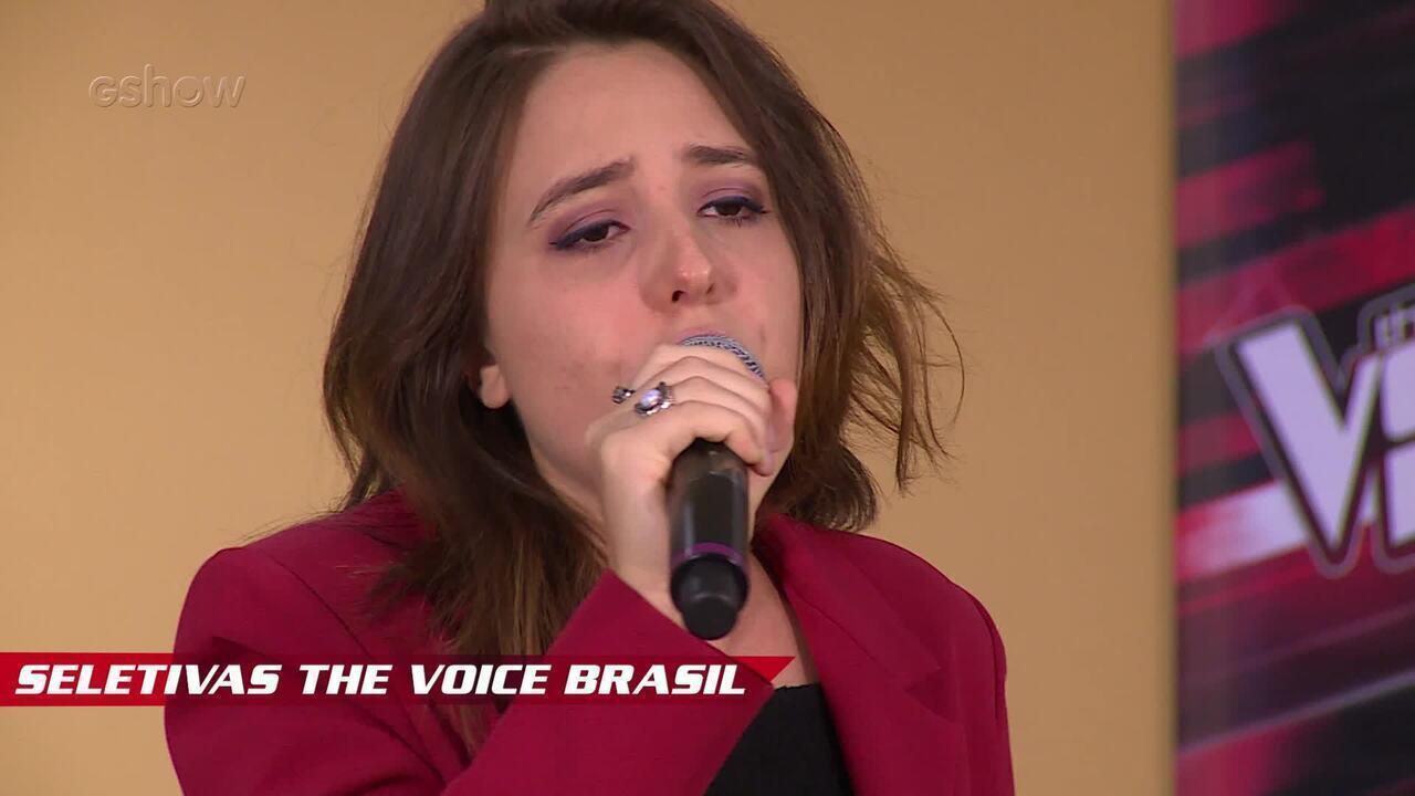 Confira vídeo exclusivo de Barbara Ferr nas seletivas do The Voice Brasil