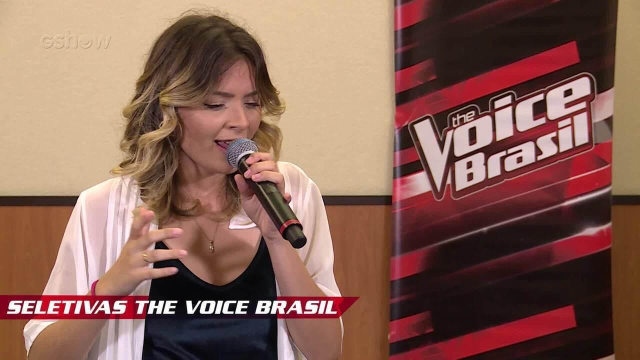 Confira vídeo exclusivo de Maraia Takai nas seletivas de The Voice Brasil