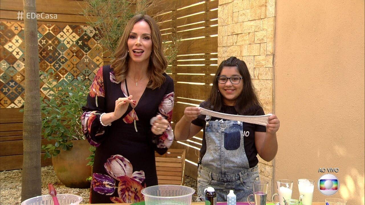 Slime aprenda a fazer de casa gshow for Como criar peces ornamentales en casa