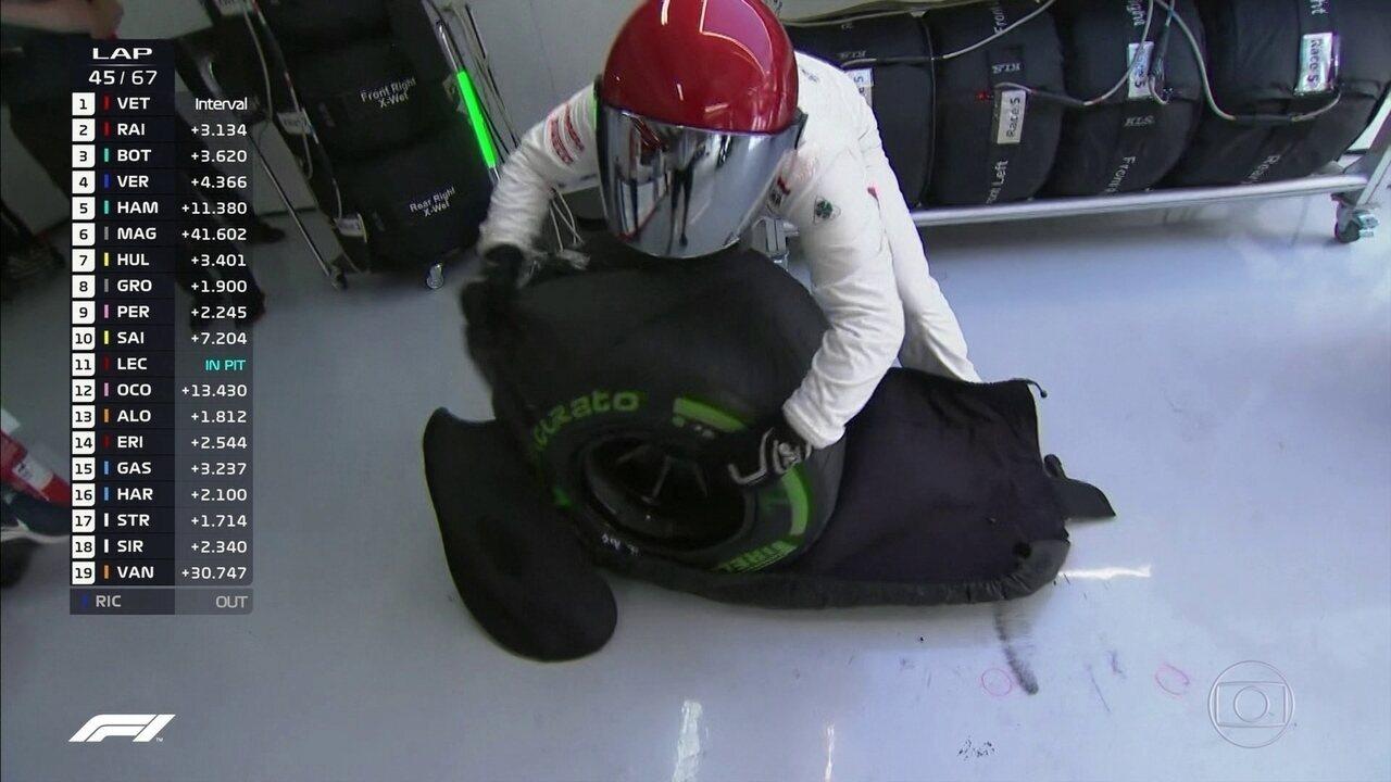 E a chuva chegou! Equipes e pilotos se preparam para a novidade durante GP da Alemanha