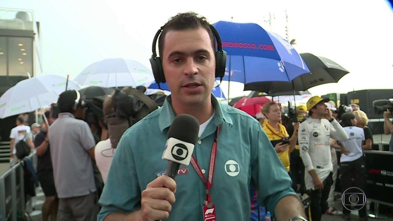 Guilherme Pereira fala sobre entrevista com Vettel que assumiu erro que o tirou da corrida